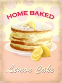 Home Baked Lemon Cake