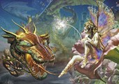 Fantasy Dragon &amp; Fairy Dragons Dream