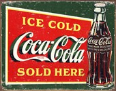 Vintage Coke Sign Coca-Cola