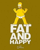 Fat and Happy! The Simpsons