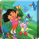 Chasing Butterflies! Dora The Explorer