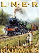 The Flying Scotsman London &amp; North Eastern Railways
