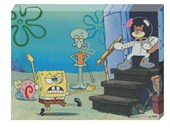 Fun with Spongebob, Squidward and Sandy Spongebob Squarepants
