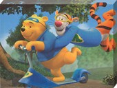 Pooh and Tigger Superheroes! Disney's My Friends Tigger and Pooh