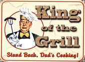 Stand Back, Dad's Cooking King of the Grill