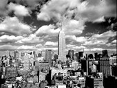 Clouds Over Manhattan, New York City Henri Silberman