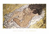 The Embrace (Lovers II), 1917 Egon Schiele