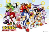 Sonic and the Gang Sonic the Hedgehog