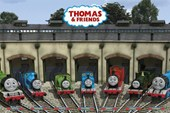 Safe and Snug in their Sidings Thomas the Tank Engine and Friends
