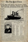 Titanic Tragedy The New York Times