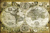 Historical World Map Map of the World