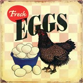 Poached, Fried or Scrambled Fresh Eggs