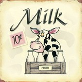 Only 10 Cents A Bottle Fresh Milk