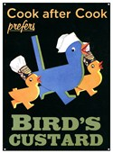 The Preferred Custard Bird's