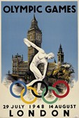 The 1948 Olympic Games London, England