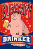 Heavy Drinker Family Guy