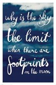 Why is the Sky the Limit? Footprints