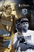 Finals MVP Dirk Nowitzki