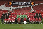 Team Photo 2011-2012 Manchester United F.C.