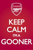 Keep Calm I'm A Gooner Arsenal Football Club