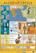 Ancient Greece Educational Children's Timeline and Map