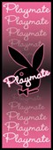 Pink Playboy Bunny Logo Neon Playmate
