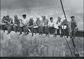 Men on a Girder Having Lunch New York City Collection