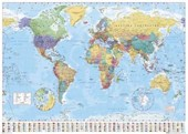 World Map with Flags World Map