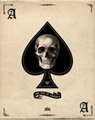 The Ace of Spades Card of Death