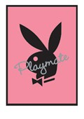 Pink Bunny Logo Playboy Playmate