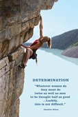 Women must do twice as well as Men Determination