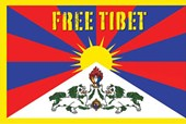 Free Tibet Flag Religious and Political Symbolism