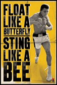 Float Like a Butterfly Muhammad Ali