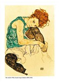 The Artists Wife Seated, 1918 Egon Schiele