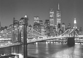 Henri Silberman's Brooklyn Bridge 8 Sheet Cityscape Wall Mural
