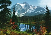 Mountain Morning 8 Sheet Giant Wall Mural