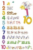 Counting with Animals Counting from 1 to 10