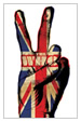 The Who, Union Jack Peace Sign Poster