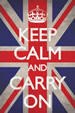 Keep Calm and Carry On, Union Jack Poster